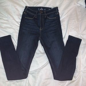 Hollister Darkwash Leggings